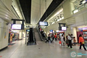 Farrer Park MRT Station - Platform level