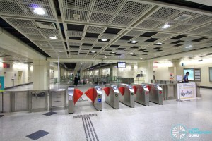 Farrer Park MRT Station - South Faregates