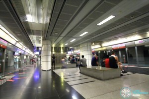 Boon Keng MRT Station - Platform level