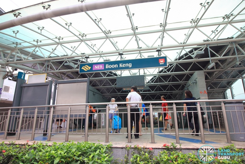 Boon Keng MRT Station - Exit A