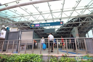 Boon Keng MRT Station - Exit B