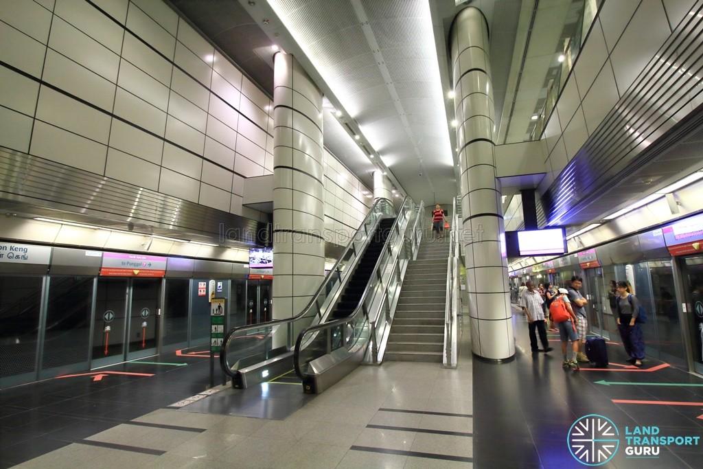 Boon Keng MRT Station - Platform level