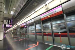 Boon Keng MRT Station - Platform A