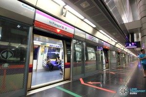 Boon Keng MRT Station - Platform B