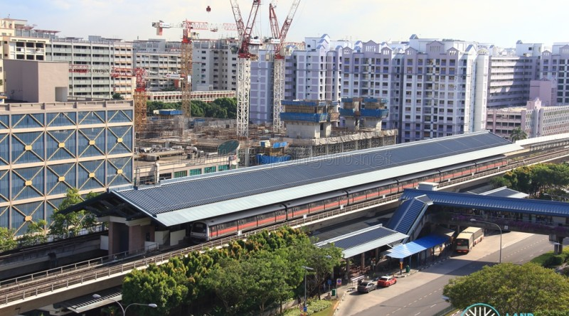 Admiralty MRT Station - Aerial view