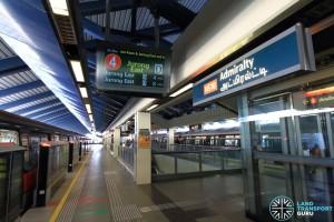 Admiralty MRT Station - Platform A