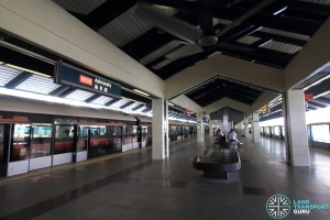 Admiralty MRT Station - Platform level