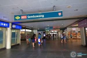 Sembawang MRT Station - Exit B