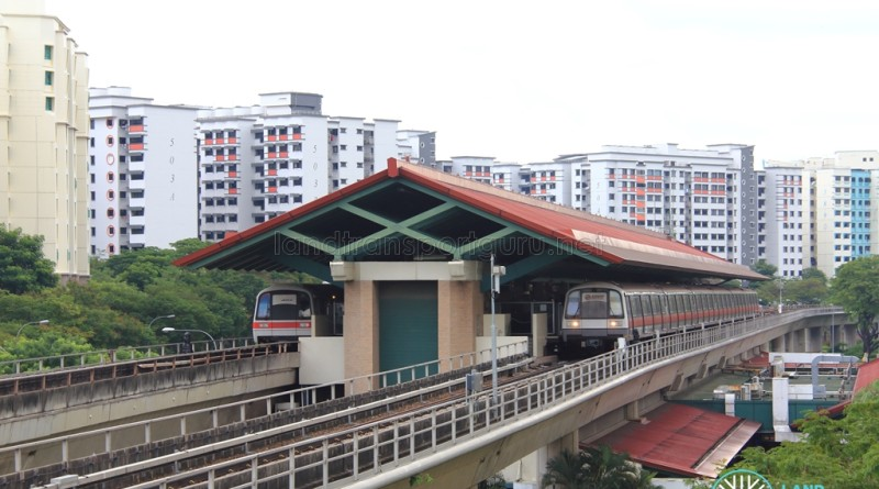 Sembawang MRT Station - Exterior view