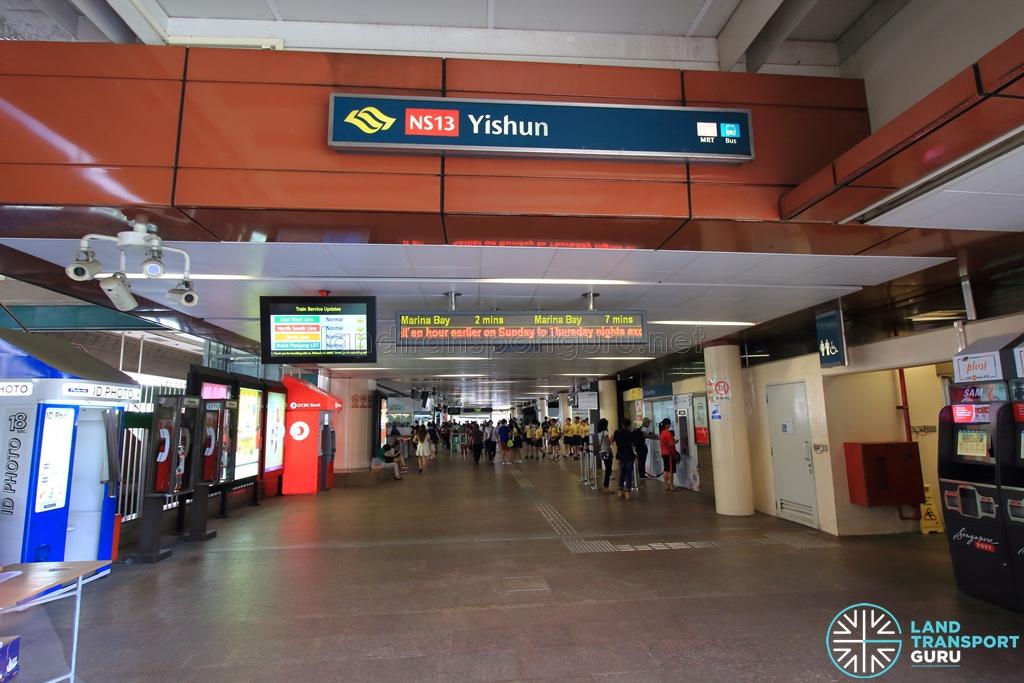 Yishun MRT Station - Exit B