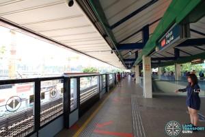 Yishun MRT Station - Platform B