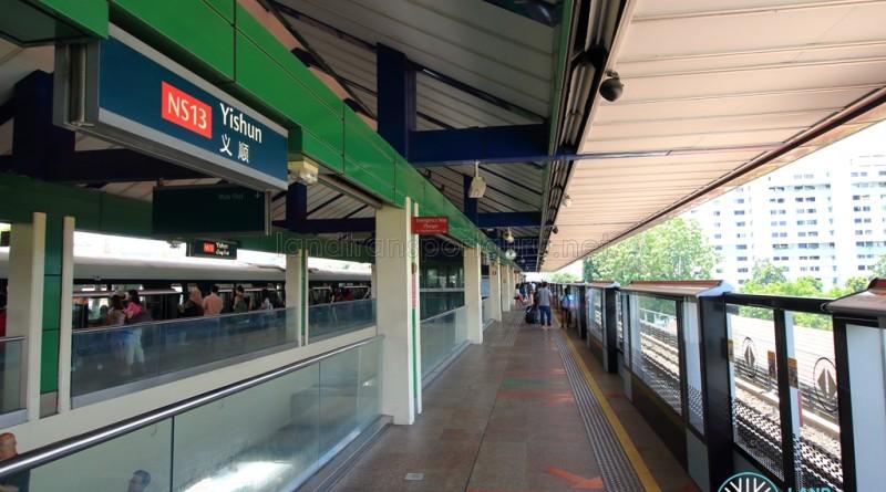 Yishun MRT Station - Platform A