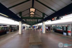 Khatib MRT Station - Platform level