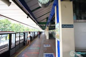 Khatib MRT Station - Platform B