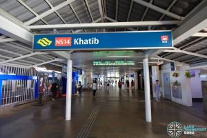 Khatib MRT Station - Exit D