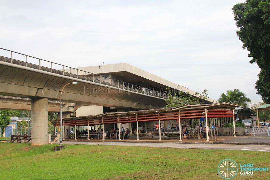 Yio Chu Kang MRT Station - Station exterior