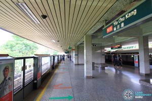 Yio Chu Kang MRT Station - Platform B