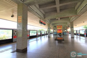 Yio Chu Kang MRT Station - Platform level