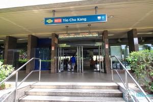 Yio Chu Kang MRT Station - Exit A