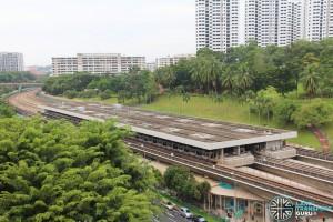 Ang Mo Kio Station: Overhead view