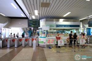 Ang Mo Kio MRT Station - Passenger Service Centre & Faregates