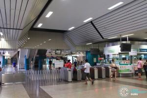 Ang Mo Kio Station: Faregates & PSC