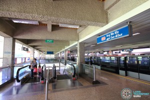 Ang Mo Kio Station: NSL Platform B / D