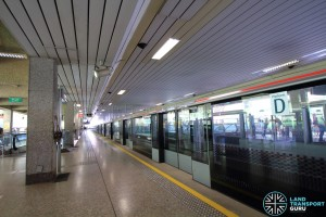 Ang Mo Kio Station: NSL Platform D
