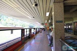 Ang Mo Kio Station: NSL Platform B