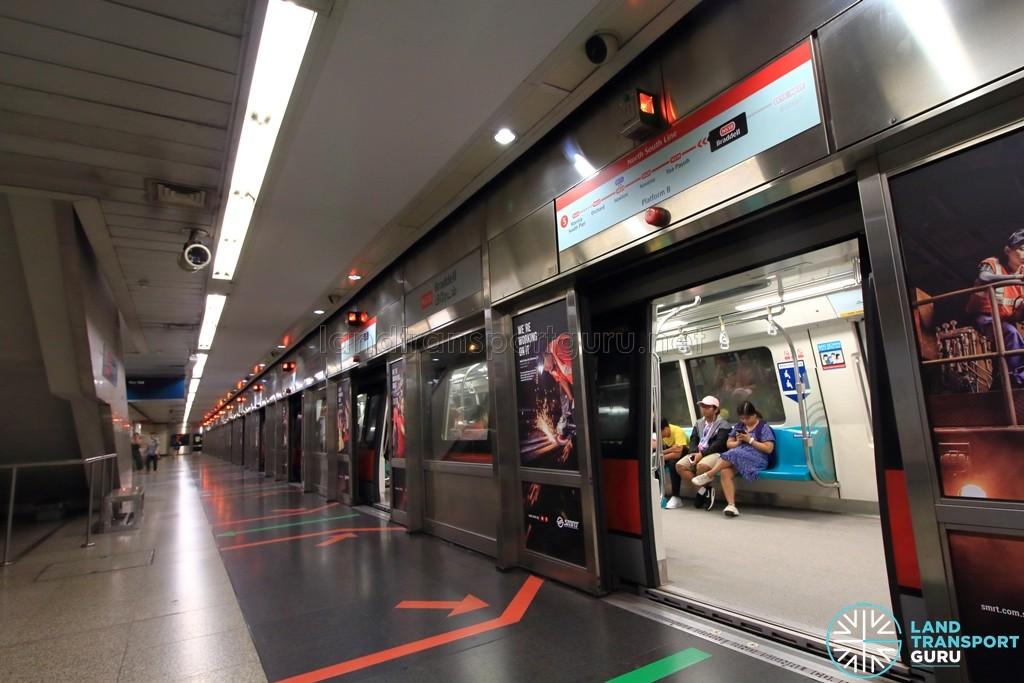 Braddell MRT Station - Platform B