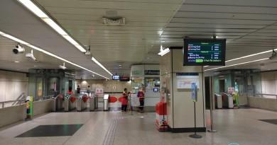 Braddell MRT Station - Passenger Service Centre & Faregates