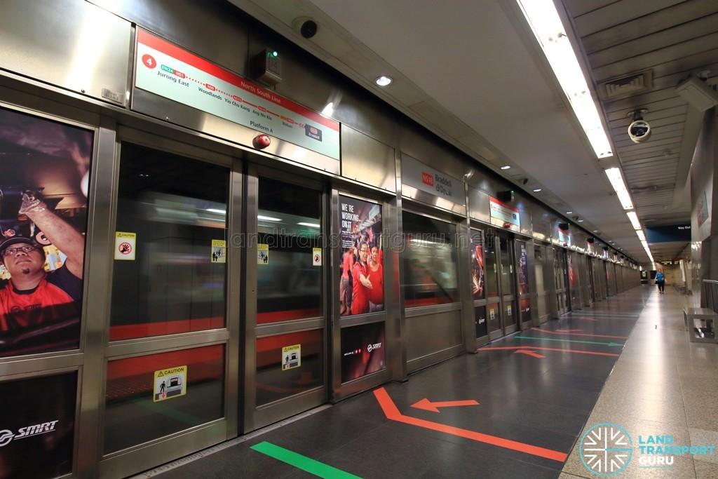 Braddell MRT Station - Platform A