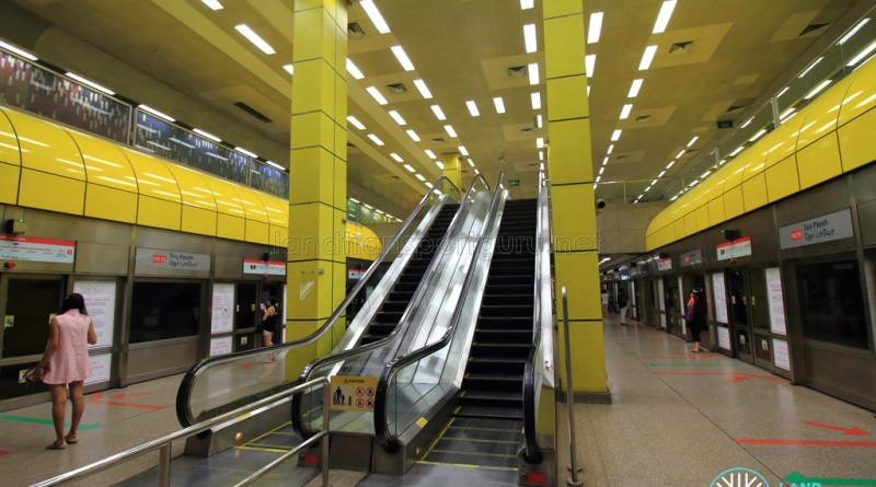 Toa Payoh MRT Station - Platform level