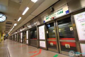 Toa Payoh MRT Station - Platform A