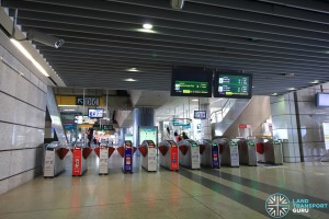 Jurong East MRT Station - East Faregates