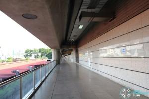 Jurong East MRT Station - Unpaid corridor