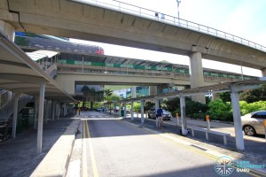 Jurong East MRT Station - Taxi stand and pick-up/drop-off point