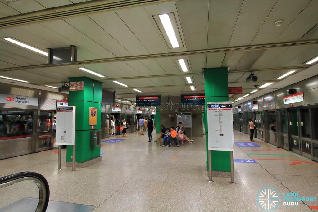Novena MRT Station - Platform level