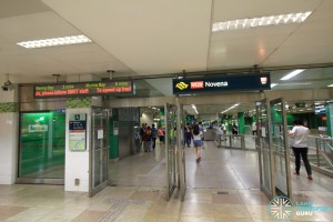 Novena MRT Station - Underground Exit A