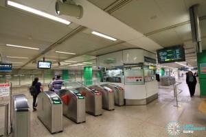 Novena MRT Station - Passenger Service Centre & Faregates