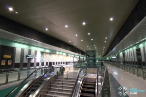 Marina South Pier MRT Station - Concourse level