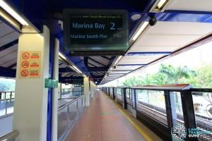 Bukit Gombak MRT Station - Platform A