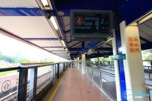 Bukit Gombak MRT Station - Platform B