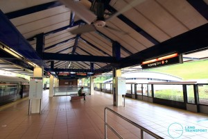 Bukit Gombak MRT Station - Platform level