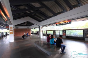 Yew Tee MRT Station - Platform level
