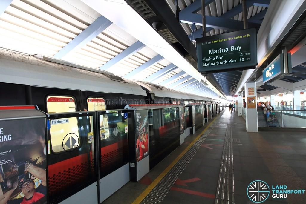 Yew Tee MRT Station - Platform B