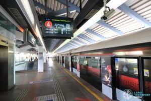 Yew Tee MRT Station - Platform A