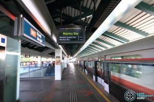 Kranji MRT Station - Platform A