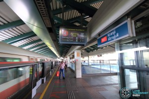 Kranji MRT Station - Platform B