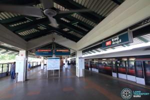 Kranji MRT Station - Platform level